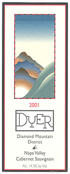 Dyer Vineyard - Diamond Mountain, Napa Valley